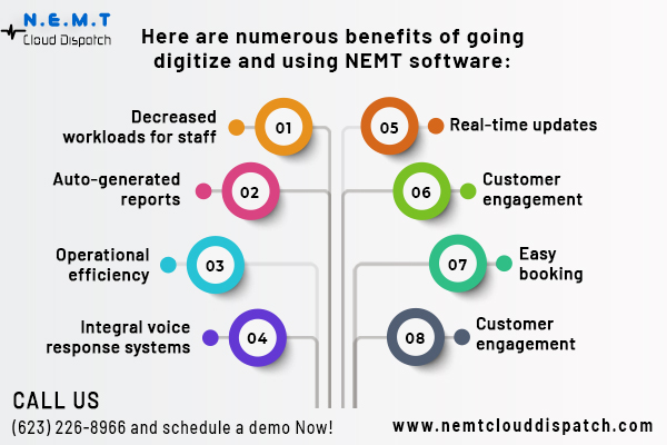 Why NEMT providers should transform their business from the traditional way to digital