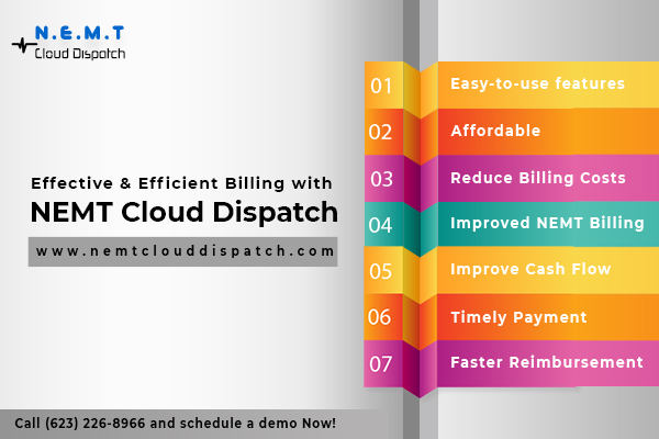 Features of NEMT Billing Software